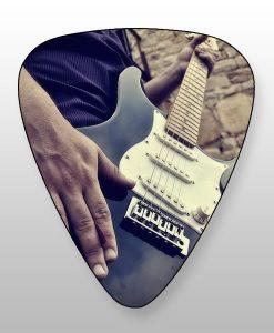 gitaar enkelzijdig bedrukte plectrums