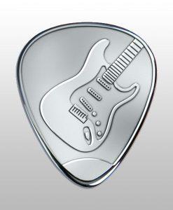 Graveer plectrum gitaar