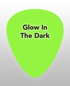 Glow in the dark - Plectrums bedrukking