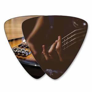 Eigen bass plectrums - Dubbelzijdig