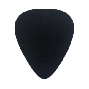 Custom Nylon Plectrum - Zwart
