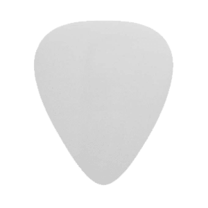 Custom Nylon Plectrums - Wit