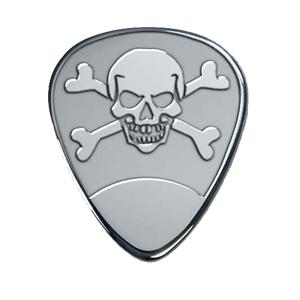 Zilveren plectrum - Doodshoofd