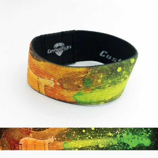 Armband - Gitaar Rainbow