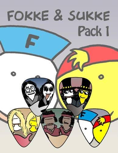 Fokke en Sukke - Plectrum Pack 1