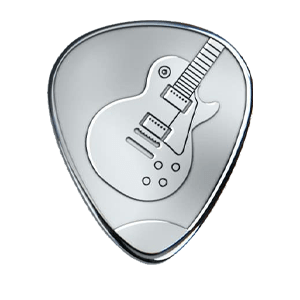 Zilveren Plectrum - Les Paul