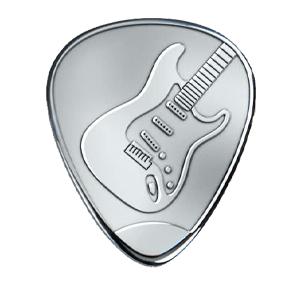 Zilveren Plectrum - Strat